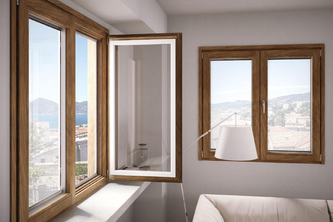 porte finestre serramenti e infissi in legno legno