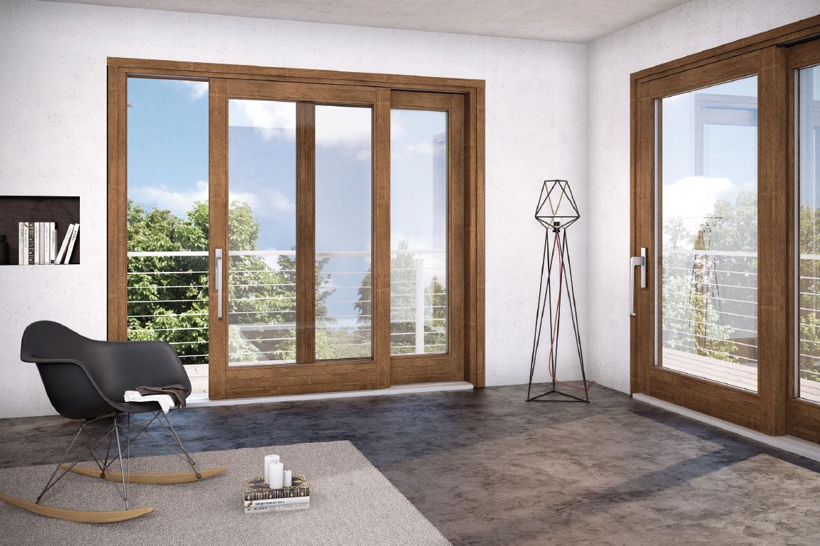 Meglio infissi in legno legno alluminio alluminio o pvc for Infissi pvc legno