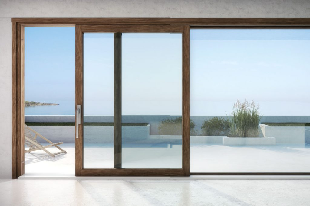 finestre con vetro doppio o triplo