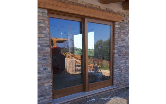 finestra scorrevole villa privata